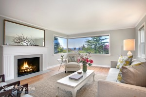 Real Estate Photo of Living Room